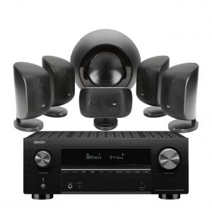 Denon AVC-X3700H Amplifier with Bowers & Wilkins MT-60D Home Theatre System