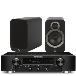 Marantz NR1200 Stereo Network Receiver with Q Acoustics 3020i Bookshelf Speakers