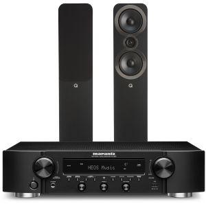 Marantz NR1200 Stereo Network Receiver with Q Acoustics 3050i Floorstanding Speakers