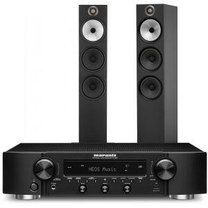 Marantz NR1200 Stereo Network Receiver with Bowers & Wilkins 603 Floorstanding Speakers