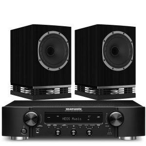 Marantz NR1200 Stereo Network Receiver with Fyne Audio F500 Bookshelf Speakers