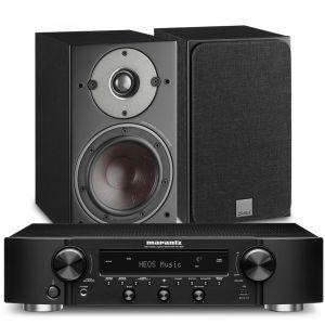 Marantz NR1200 Stereo Network Receiver with Dali Oberon 1 Bookshelf Speakers