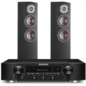 Marantz NR1200 Stereo Network Receiver with Dali Oberon 5 Floorstanding Speakers