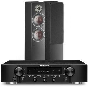 Marantz NR1200 Stereo Network Receiver with Dali Oberon 7 Floorstanding Speakers
