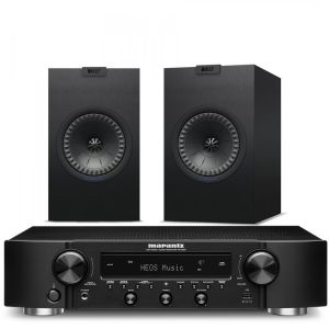 Marantz NR1200 Stereo Network Receiver with KEF Q150 Bookshelf Speakers