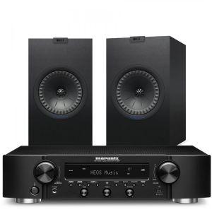 Marantz NR1200 Stereo Network Receiver with KEF Q350 Bookshelf Speakers