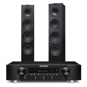 Marantz NR1200 Stereo Network Receiver with KEF Q550 Floorstanding Speakers