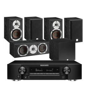Marantz NR1711 Slim 7.2Ch 8K AV Receiver with Dali Spektor 2 AV Speakers