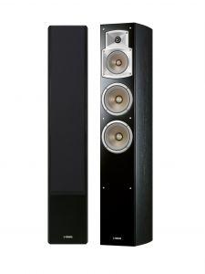 Yamaha NS-F350 Floostanding Speakers - Black (Pair)