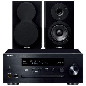 Yamaha CRX-N470D with Yamaha NS-BP150 Bookshelf Speakers