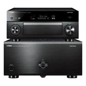 Yamaha Aventage CX-A5200 AV Processor with Yamaha Aventage MX-A5200 11 Channel Power Amplifier