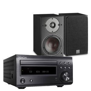 Denon D-M41DAB Hi-Fi System with Dali Oberon 1 Bookshelf Speakers
