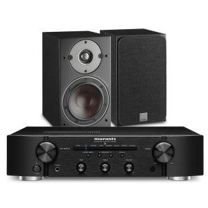 Marantz PM6007 Integrated Amplifier with Dali Oberon 1 Bookshelf Speakers