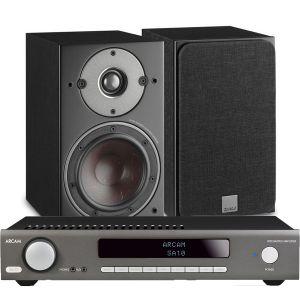 Arcam SA10 Integrated Amplifier with Dali Oberon 1 Bookshelf Speakers