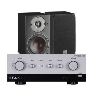 LEAK Stereo 130 Integrated Amplifier with Dali Oberon 5 Floorstanding Speakers