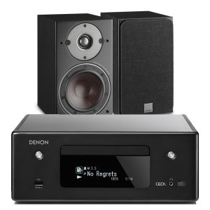 Denon CEOL N11DAB  Hi-Fi-Network CD Receiver with Dali Oberon 3 Bookshelf Speaker