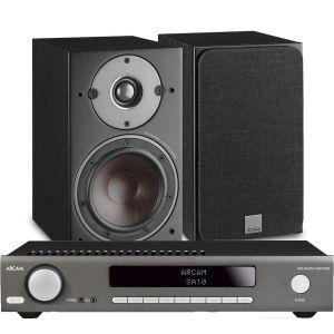 Arcam SA10 Integrated Amplifier with Dali Oberon 3 Bookshelf Speakers