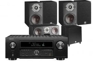 Denon AVC-X6700H 11.2 AV Amplifier with Dali Oberon 3 AV Speaker System with C-8 D Sub