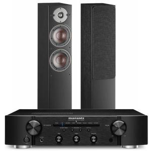 Marantz PM6007 Integrated Amplifier with Dali Oberon 5 Floorstanding Speakers