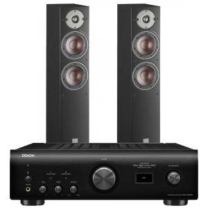 Denon PMA-1600NE Integrated Amplifier with Dali Oberon 5 Floorstanding Speakers