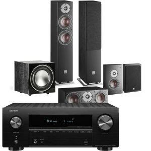 Denon AVR-X2700H AV Receiver with Dali Oberon 5 AV Speaker System