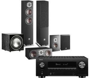 Denon AVC-X3700H Amplifier with Dali Oberon 5 AV Speaker System