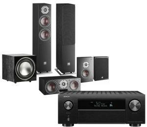 Denon AVC-X4700H AV Amplifier with Dali Oberon 5 AV Speaker System