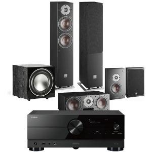 Yamaha RX-A2A AV Receiver with Dali Oberon 5 AV Speaker System