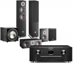 Marantz SR6015 9.2ch 8K AV Amplifier with Dali Oberon 5 AV Speaker System