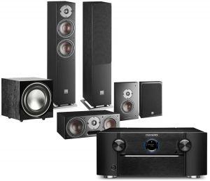 Marantz SR8015 11.2ch 8K AV Amplifier with Dali Oberon 5 AV Speaker System
