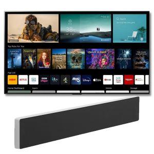 "LG OLED77G16LA 77"" 2021 Range Smart Gallery Television with Bang & Olufsen Beosound Stage Soundbar"