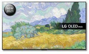 "LG OLED77G16LA 77"" 2021 Range Smart Gallery Television"