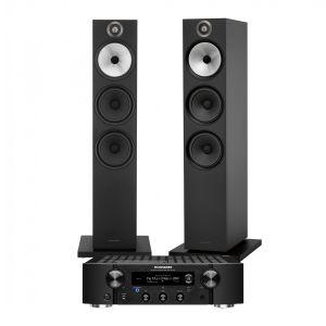 Marantz PM7000N Integrated Stereo Amplifier with Bowers & Wilkins 603 Floorstanding Speakers