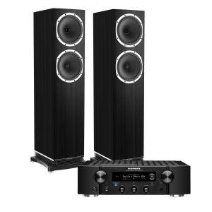 Marantz PM7000N Integrated Stereo Amplifier with Fyne Audio F502 Floorstanding Speakers