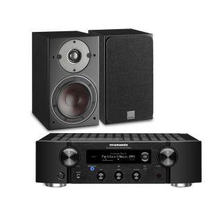 Marantz PM7000N Integrated Stereo Amplifier with Dali Oberon 3 Bookshelf Speakers