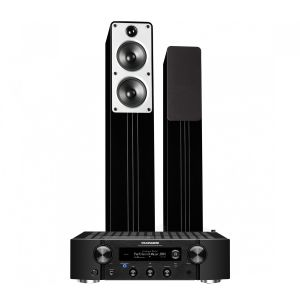 Marantz PM7000N Integrated Stereo Amplifier with Q Acoustics Concept 40 Floorstanding Speakers