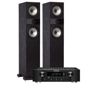 Marantz PM7000N Integrated Stereo Amplifier with Fyne Audio F303 Floorstanding Speakers