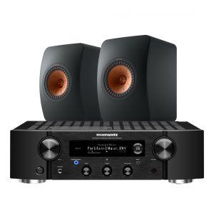Marantz PM7000N Integrated Stereo Amplifier with KEF LS50 Meta Standmount Loudspeakers