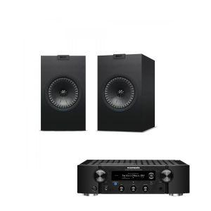 Marantz PM7000N Integrated Stereo Amplifier with KEF Q150 Bookshelf Speakers