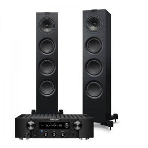 Marantz PM7000N Integrated Stereo Amplifier with KEF Q550 Floorstanding Speaker