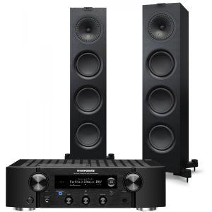 Marantz PM7000N Integrated Stereo Amplifier with KEF Q750 Floorstanding Speaker