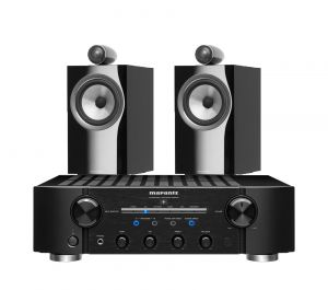 Marantz PM8006 HiFi Amplifier with Bowers & Wilkins 705 S2 Standmount Speakers