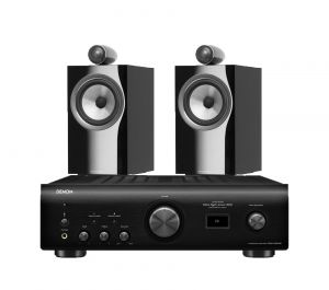 Denon PMA-1600NE Integrated Amplifier with Bowers & Wilkins 705 S2 Standmount Speakers