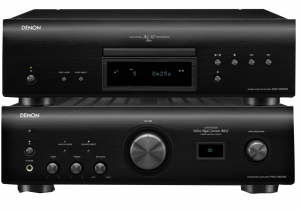 Denon PMA-1600NE Integrated Amplifier with Denon DCD-1600NE CD Player