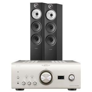 Denon PMA-2500NE with Bowers & Wilkins 603 S2 Floorstanding Loudspeakers