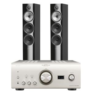 Denon PMA-2500NE with Bowers & Wilkins 703 S2 Floorstanding Speakers