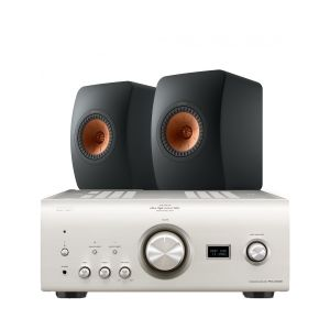 Denon PMA-2500NE with KEF LS50 Meta Standmount Loudspeakers