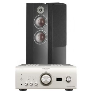 Denon PMA-2500NE with Dali Oberon 7 Floorstanding Speakers