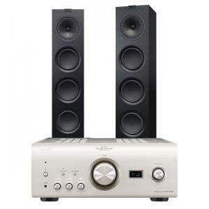 Denon PMA-2500NE with KEF Q750 Floorstanding Speakers