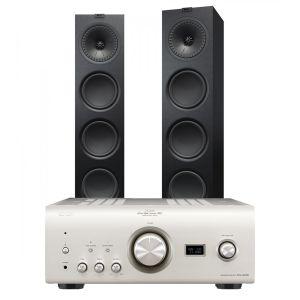 Denon PMA-2500NE with KEF Q950 Floorstanding Speakers